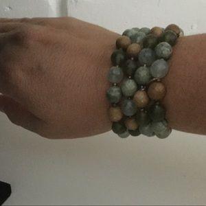 Cookie Lee 4 piece beaded bracelet